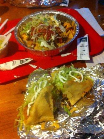 Hughie's Taco House : Yummy meal!