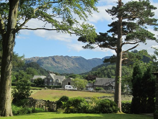 The Borrowdale Gates Hotel: the view