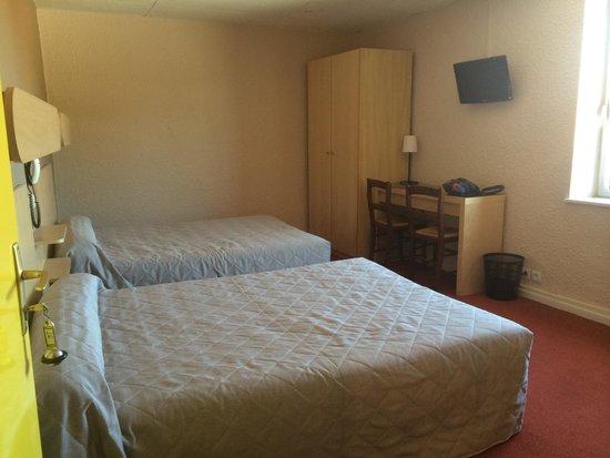 Hotel L'Ange Couronne : La chambre 16