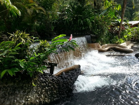 Tabacon Thermal Resort & Spa: Spa...so romantic and really not crowded.  Lots of space to wander and be alone.