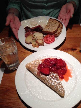 Crepe-Montagne: 5 star breakfast!