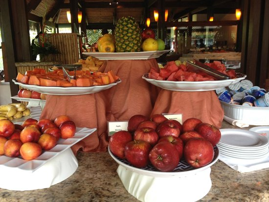 Tabacon Thermal Resort & Spa: Wonderful fruit choices at breakfast buffet
