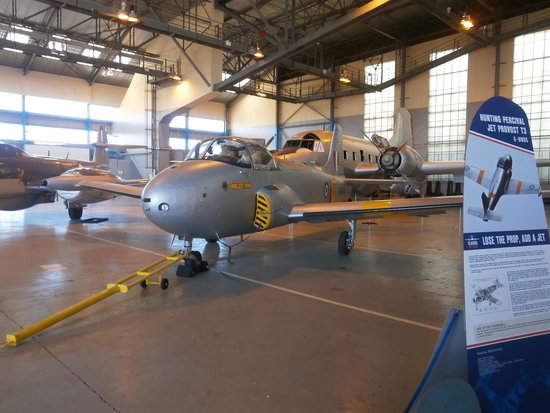 Classic Air Force: part of the hanger display