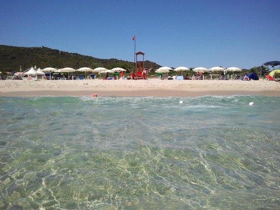 Hotel il Vascello: Private beach