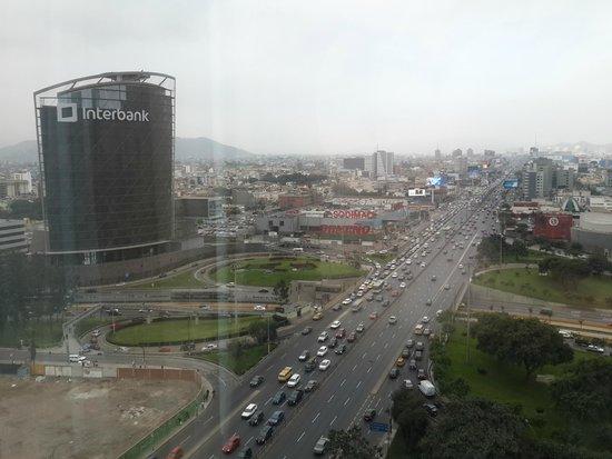 The Westin Lima Hotel & Convention Center: Vista desde la habitación