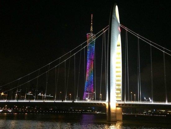 Pearl River (Zhujiang) : Canton Tower
