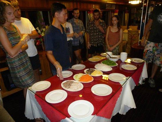 Vega Travel: Spring rolls course