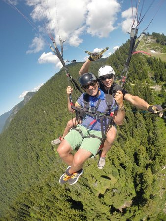North Shore Paragliding : Great day