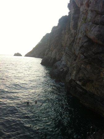 Hotel Locanda Costa Diva: The private swimming alcove