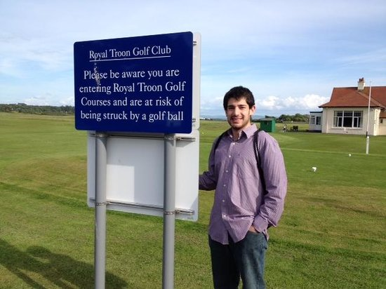 Piersland House Hotel: Royal Troon Golf Course - across the road