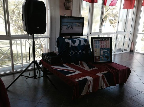 Blau Marina Varadero Resort: World Cup area