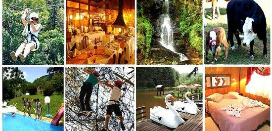 Hotel Fazenda Floresta Negra: Hotel e atividades