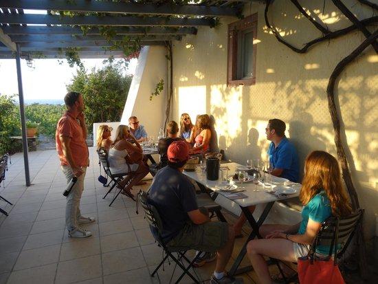 Santorini Wine Tour: Everything where we went was beautiful!