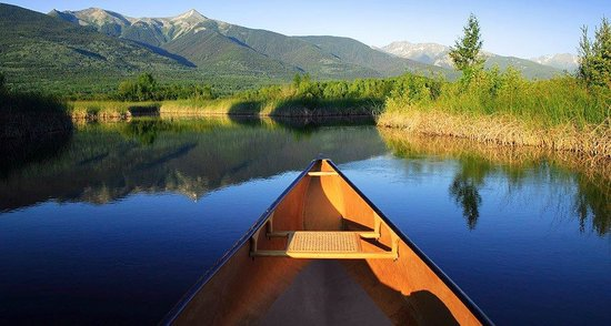 Valemount, Kanada: you can also canoe and kayak the marsh