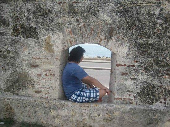 Muraille : Tronera de la ciudad amurallada