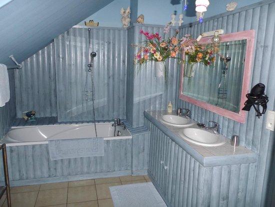 La Maison du Pecheur: lavabo doubles :)