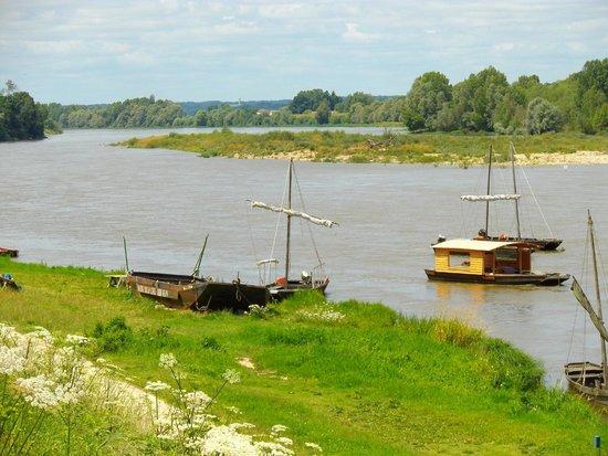 La Maison du Pecheur: vue coté Loire