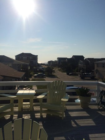 Cape Hatteras Bed and Breakfast : View from second floor deck