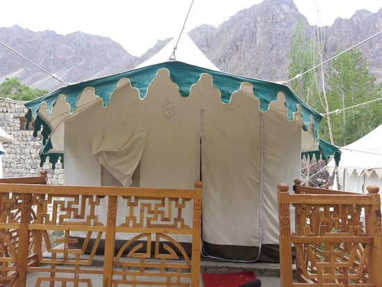 Hunder, Ấn Độ: Tent