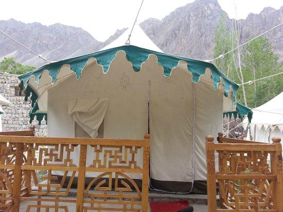 Nubra Valley, India: Tent