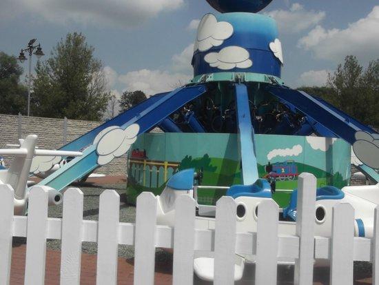 Drayton Manor Park: Thomas Land plane ride