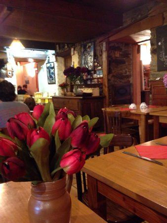 Creperie Steredenn : Charming atmosphere of inside