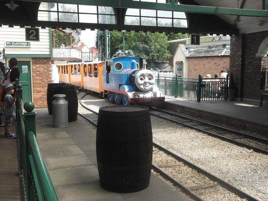 Drayton Manor Park: Thomas The Tank Engine at Thomas Land