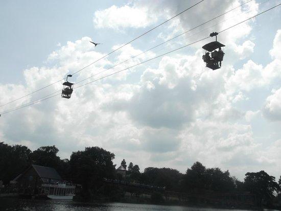 Drayton Manor Park: Sky ride