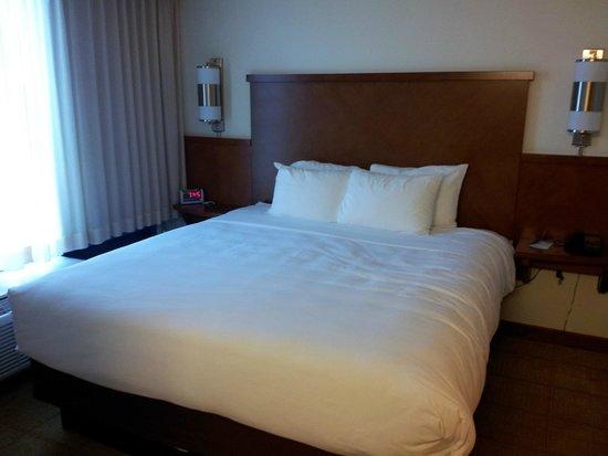 Hyatt Place Louisville-East: King bed.