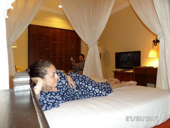 Club Bali Mirage : our double room