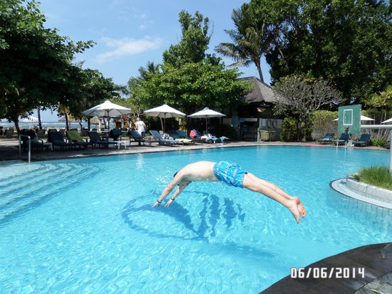 Club Bali Mirage : the swimming pool