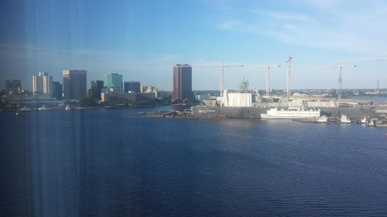 Renaissance Portsmouth-Norfolk Waterfront Hotel: View from our room