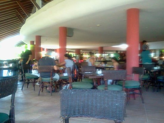 Hesperia Playa El Agua: Comedor