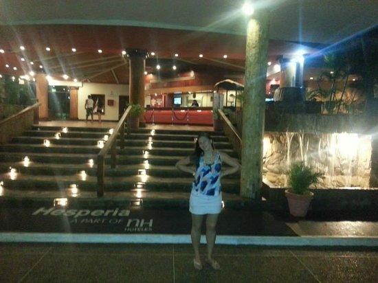 Hesperia Playa El Agua : Hall