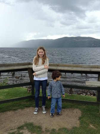 WOW Scotland: My kids at Loch Ness,  Looking for Nessie