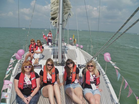 Escape Yachting - Day Sails: How relaxed are we?