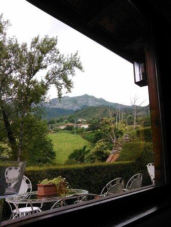 Casona de Quintana: Vista desde el desayuno