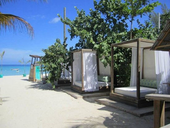 Sandy Haven Resort: I couldn't wait to sleep in one of these!