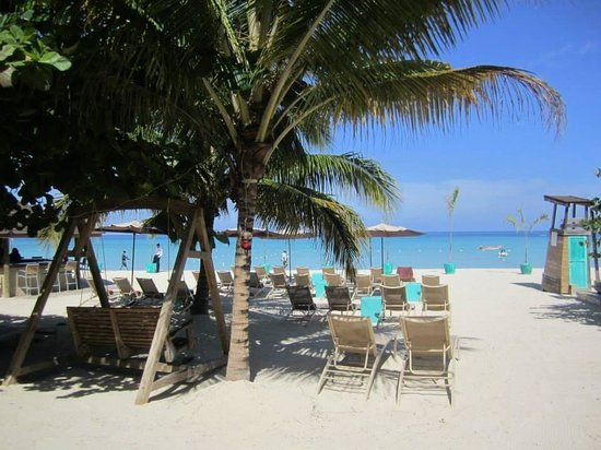 Sandy Haven Resort: The beach