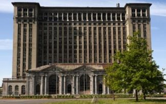 ‪Michigan Central Station‬