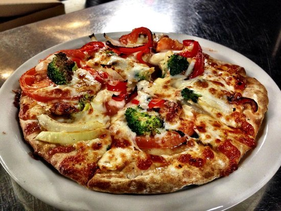 Soulshine Pizza Factory: Choose from over 25 pizzas on the menu or build your own.