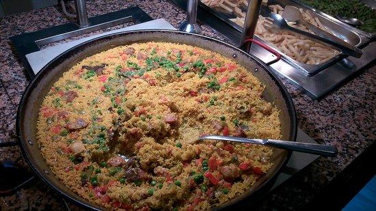 Hotel JS Sol de Alcudia: Dinner (buffet)