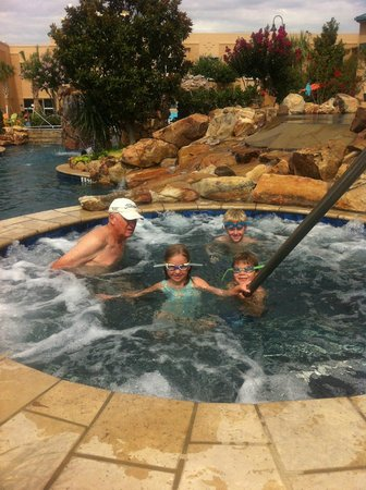 Choctaw Casino Resort: One of the many pools
