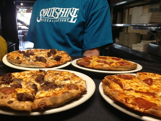 """Soulshine Pizza Factory: Pick from 8"""", 12"""", or 16"""" pizzas"""