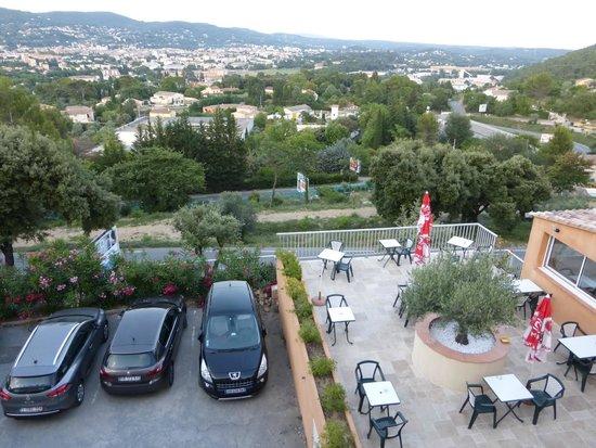 Hotel Le Col de l'Ange-Restaurant Panoragrill : VUE DE NOTRE CHAMBRE