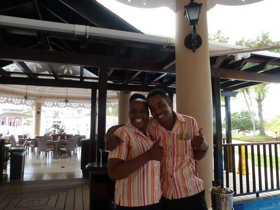 Hotel Riu Palace Tropical Bay: Friendly staff