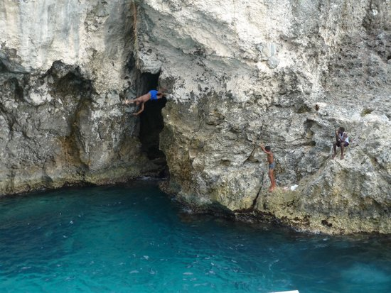 Cliff Diving At Rick S Cafe Picture Of Hotel Riu Palace