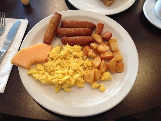 Richmond Grill: 3 eggs, sausage, home fries & toast