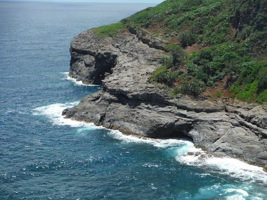 Kilauea Point National Wildlife Refuge : wave action