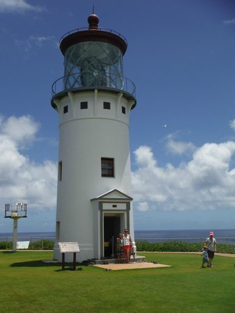 Kilauea Point National Wildlife Refuge: Beautiful lighthouse (also appears in Lilo & Stich)